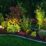 New Caney landscape lighting